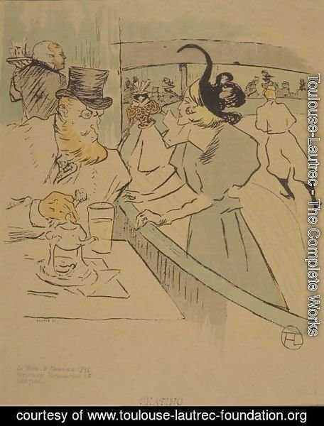 Toulouse-Lautrec - Skating