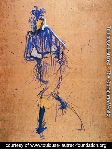 Toulouse-Lautrec - Jane Avril Dancing 3