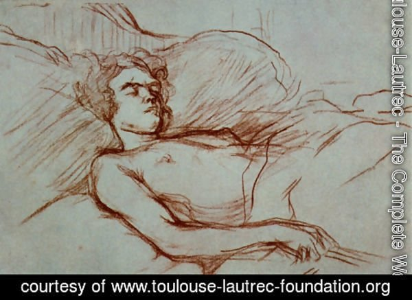 Toulouse-Lautrec - Sleeping Woman