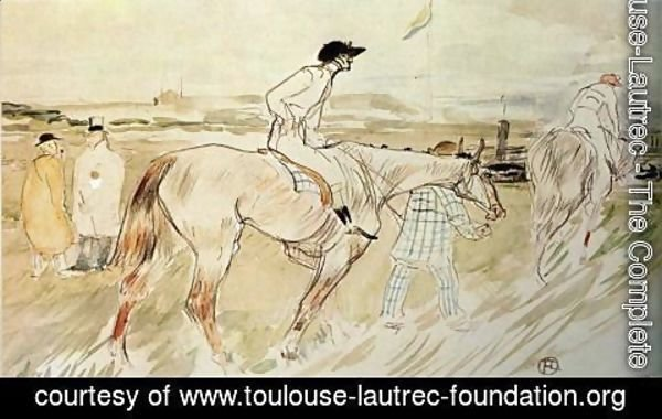 Toulouse-Lautrec - Is it Enough to Want Something Passionately ( The Good Jockey )