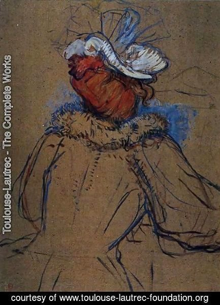 Toulouse-Lautrec - Red Haired Woman Seen from Behind
