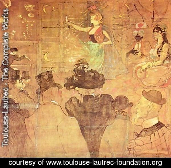 Toulouse-Lautrec - Booth of La Goulue at the Foire du Trone (The Moorish Dance)