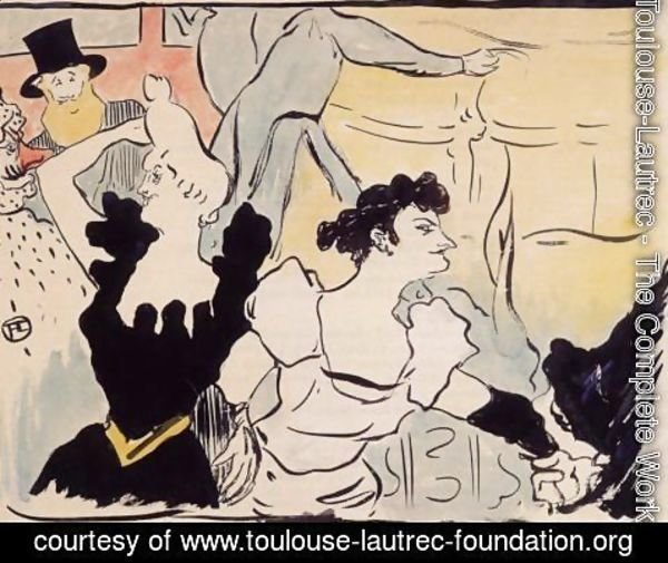 Toulouse-Lautrec - The ball