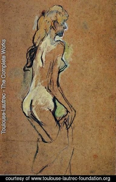Toulouse-Lautrec - Nude Girl