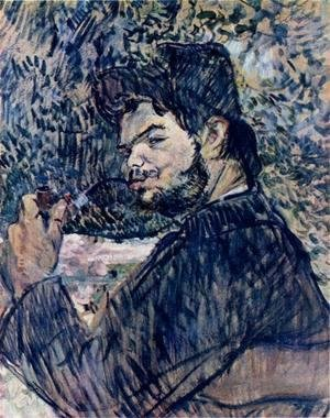 Toulouse-Lautrec - Portrait of Cipa Godebsky