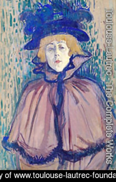 Toulouse-Lautrec - Jane Avril 2