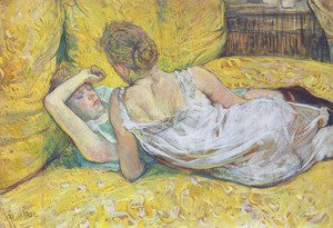 Toulouse-Lautrec - Abandonment (The pair)
