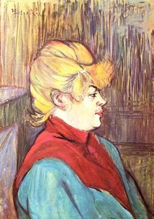 Toulouse-Lautrec - Woman brothel