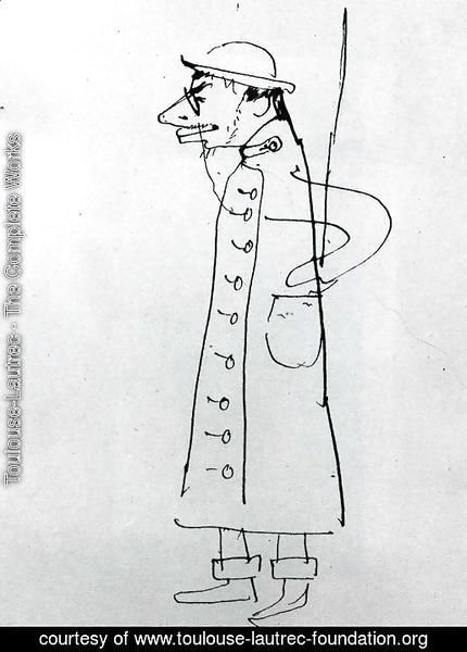 Self-Portrait. Caricature
