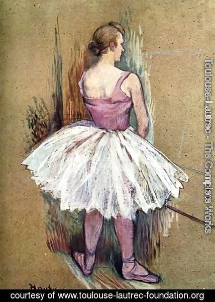 Toulouse-Lautrec - Standing Dancer