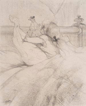 Toulouse-Lautrec - In Bed 3