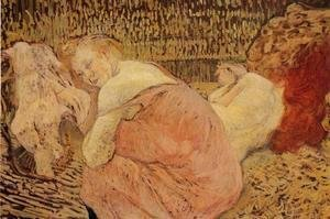 Toulouse-Lautrec - Two Friends 4