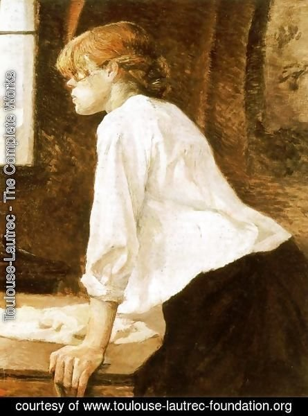 Toulouse-Lautrec - The Laundry Worker