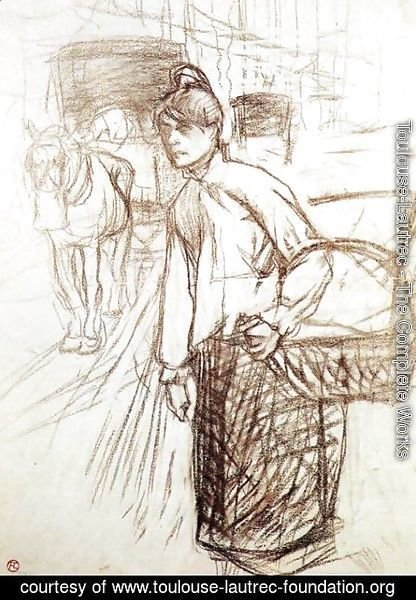 Toulouse-Lautrec - Study for the Laundress