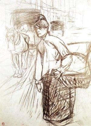 Study for the Laundress