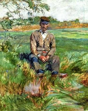 Toulouse-Lautrec - A Laborer At Celeyran