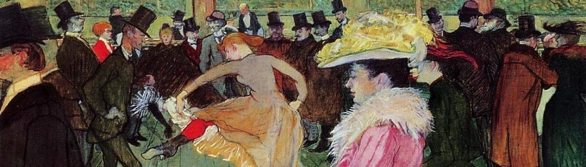 Toulouse-Lautrec - Dance At The Moulin Rouge