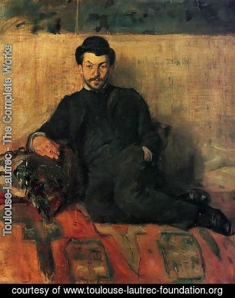 Toulouse-Lautrec - Gustave Lucien DenneryGustave Lucien Dennery