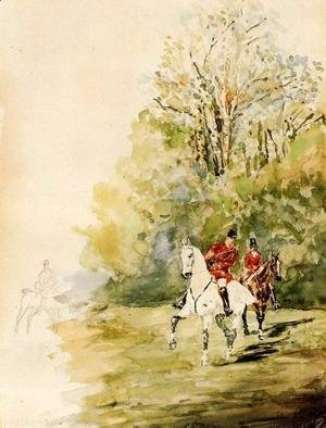 Toulouse-Lautrec - Hunting