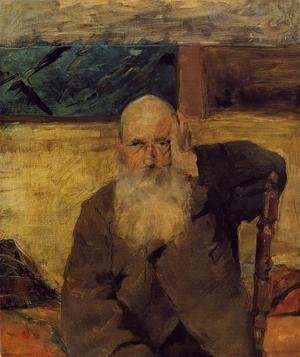 Toulouse-Lautrec - Old Man At Celeyran