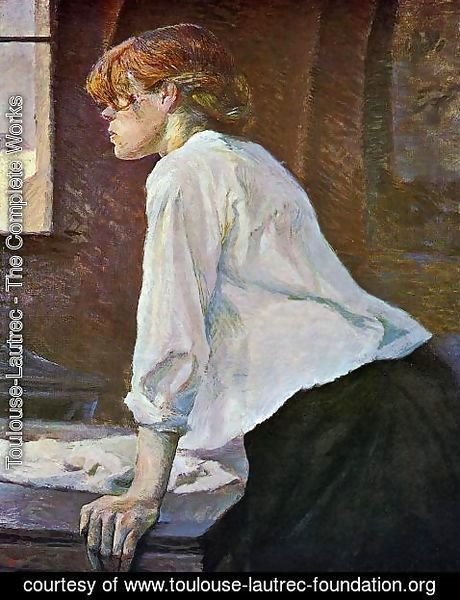 Toulouse-Lautrec - The Laundress