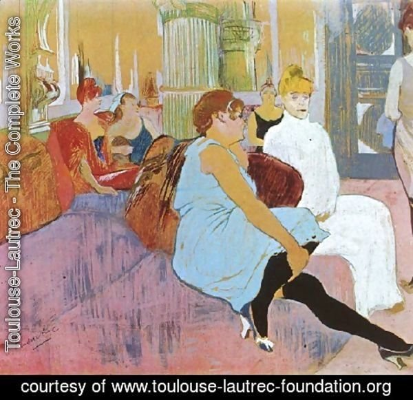 Toulouse-Lautrec - Salon In The Rue Des Moulins