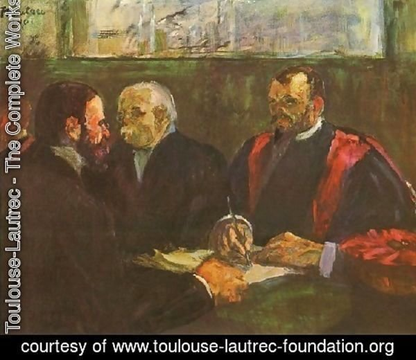 Toulouse-Lautrec - Examination At Faculty Of Medicine
