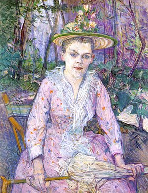 Toulouse-Lautrec - Woman With An Umbrella