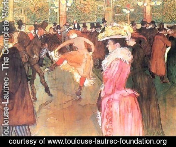 Toulouse-Lautrec - Party In Thr Moulin Rouge