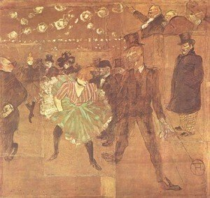 Toulouse-Lautrec - Party In Thr Moulin Rouge Ii Jpg