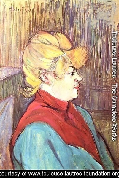 Toulouse-Lautrec - Brothel Worker
