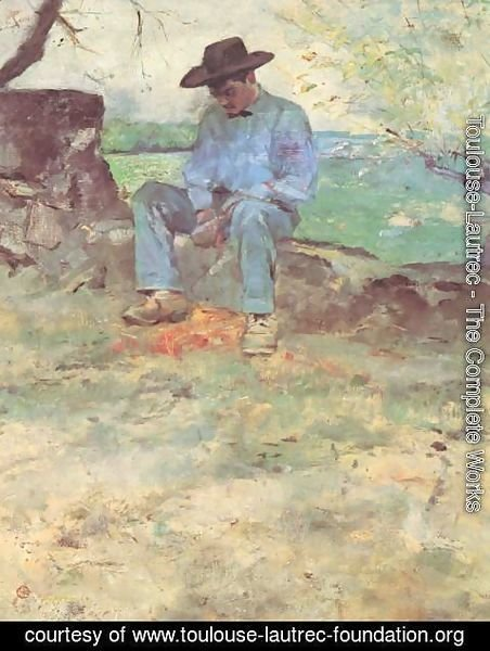 Toulouse-Lautrec - The Young Man From Celeyran