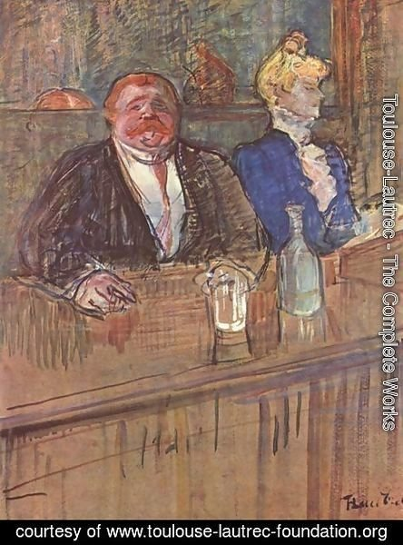 Toulouse-Lautrec - The Bar
