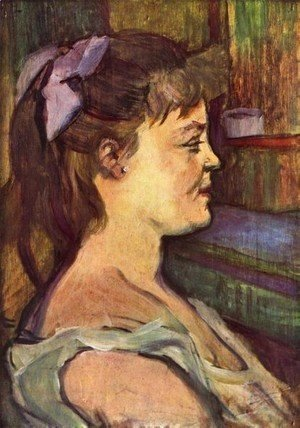 Toulouse-Lautrec - House Woman