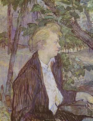Toulouse-Lautrec - Woman In Garden
