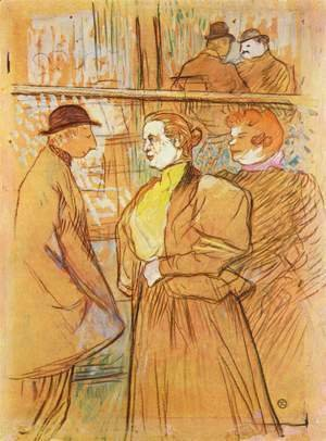 Toulouse-Lautrec - In The Moulin De La Galette Ii