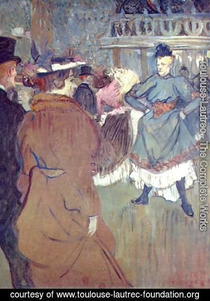 Toulouse-Lautrec - In The Moulin De La Galette Iii