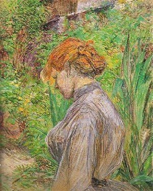 Toulouse-Lautrec - Red Headed Woman In The Garden Of Monsieur Foret
