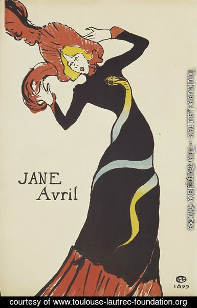 Toulouse-Lautrec - Jane Avril Ii