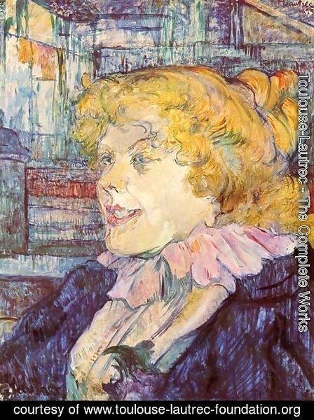 Toulouse lautrec the complete works portrait of miss for Toulouse lautrec works