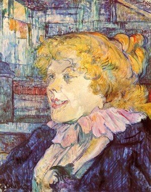 Toulouse-Lautrec - Portrait Of Miss Dolly