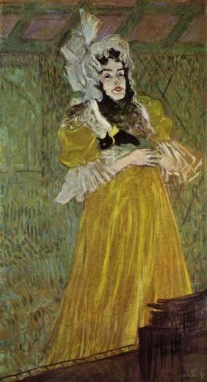 Toulouse-Lautrec - Portrait Of Miss May Belfort