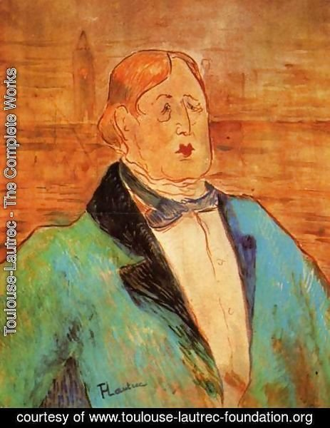 Toulouse-Lautrec - Portrait Of Oscar Wilde