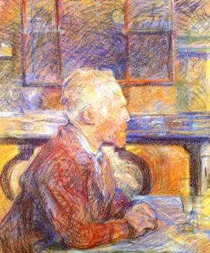 Toulouse-Lautrec - Portrait Of Vincent Van Gogh