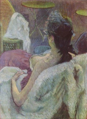 Toulouse-Lautrec - Resting Model