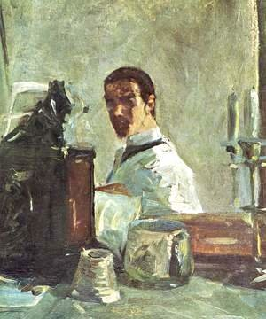 Toulouse-Lautrec - Self Portrait Before A Mirror