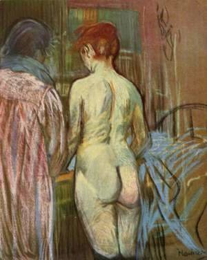 Toulouse-Lautrec - Two Girls