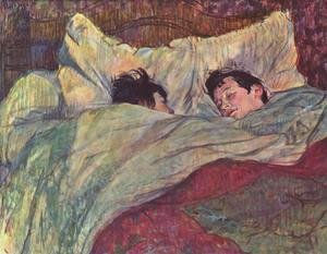 Toulouse-Lautrec - Two Girls In Bed