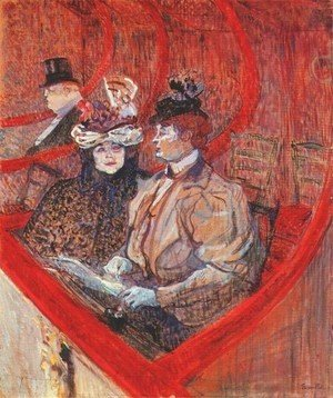 Toulouse-Lautrec - A Box At The Theater