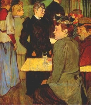 Toulouse-Lautrec - A Corner In A Dance Hall